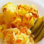 Картофель печёный Румяный