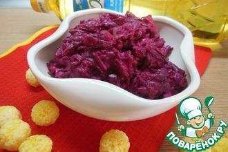 Рецепт: Свёкла в сметанном соусе