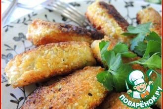 Рецепт: Рыбные котлеты в ореховой панировке