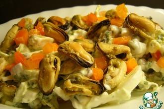 Рецепт: Салат с мидиями МЕдийный