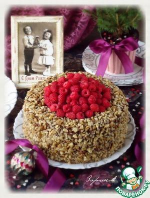 Торт шоколадно-медовый