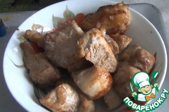 Рецепт: Жареное мясо