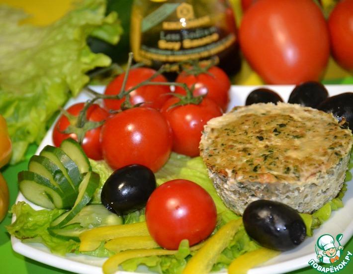 Рецепт: Рыбно-овощное суфле