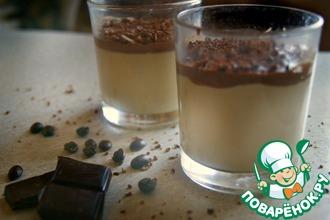 Рецепт: Кофейная Панна-котта с какао