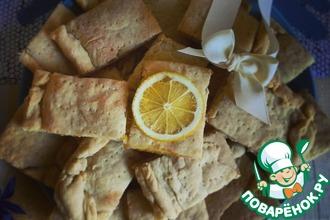 Рецепт: Лимонное печенье Желтая подводная лодка