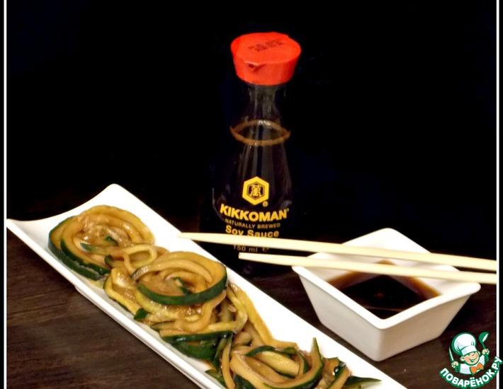 Рецепт: Японский огуречный салат Суномоно