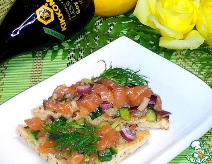 Рецепт: Тартар из лосося