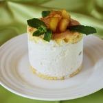 Десерт Рикотта и груши