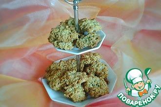 Рецепт: Овсяное печенье без муки Геркулес
