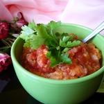 Очень густой томатно-хлебный суп