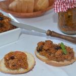 Овощной паштет из тыквы с орехами