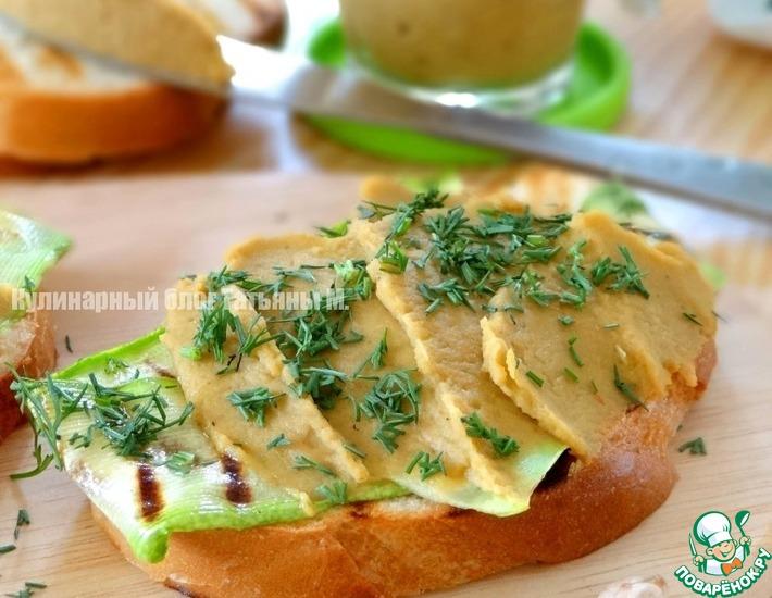 Рецепт: Нутово-овощной паштет