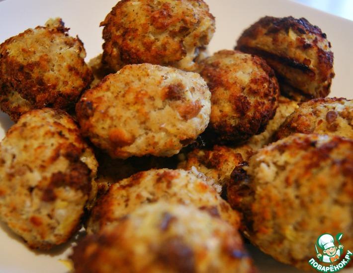 Рецепт: Рыбные котлетки из филе минтая