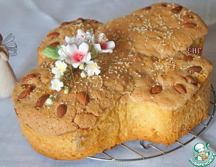 Рецепт: Итальянский пасхальный кекс Коломба