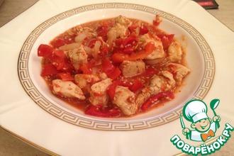 Рецепт: Куриная грудка по-тайски