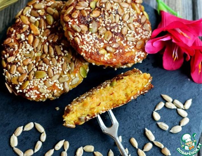 Рецепт: Полезные сырники в панировке из семечек
