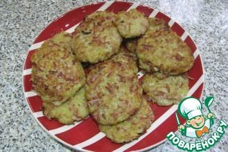 Рецепт: Картофельные драники с сосисками