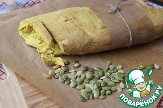 Рецепт: Карри хлеб с семенами тыквы