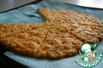 Рецепт: Сырные крекеры с чесноком