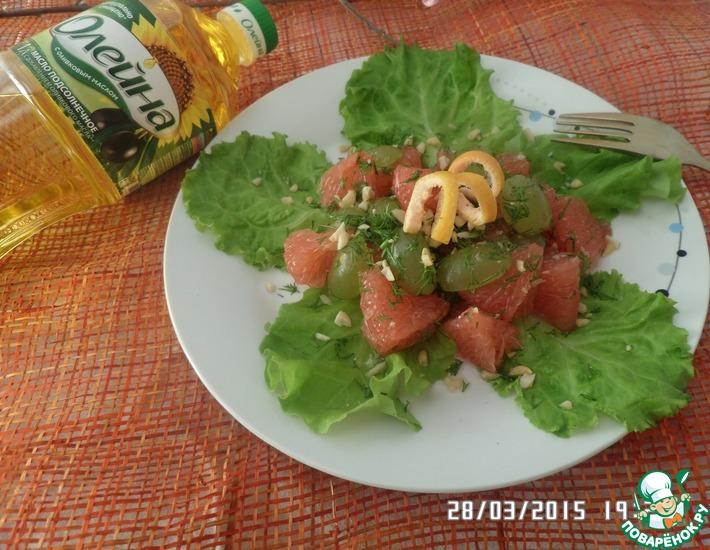 Рецепт: Салат Быстрый, Вкусный, Полезный