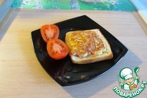 Рецепт Омлетный бутерброд