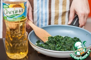 Add thawed spinach and sauté for another 3-5 minutes