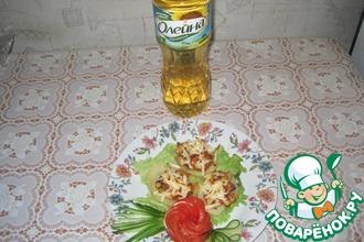 Рецепт: Картофель, фаршированный морковью, курицей и луком