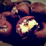 Шоколадно-сливочные маффины