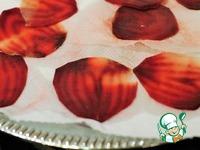 Роза из свекольных чипсов ингредиенты