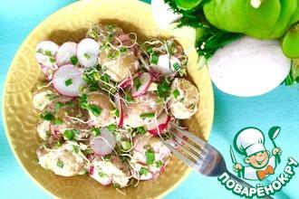 Рецепт: Салат Скоро лето!