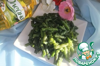 Рецепт: Салат из стручковой фасоли