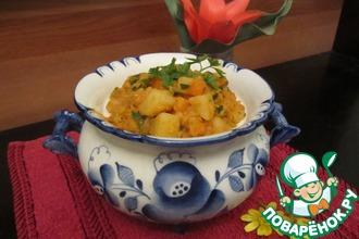 Рецепт: Картофельный гуляш по-дюссельдорфски