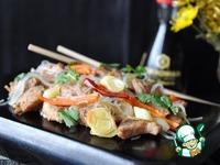Свинина с пореем по-китайски ингредиенты