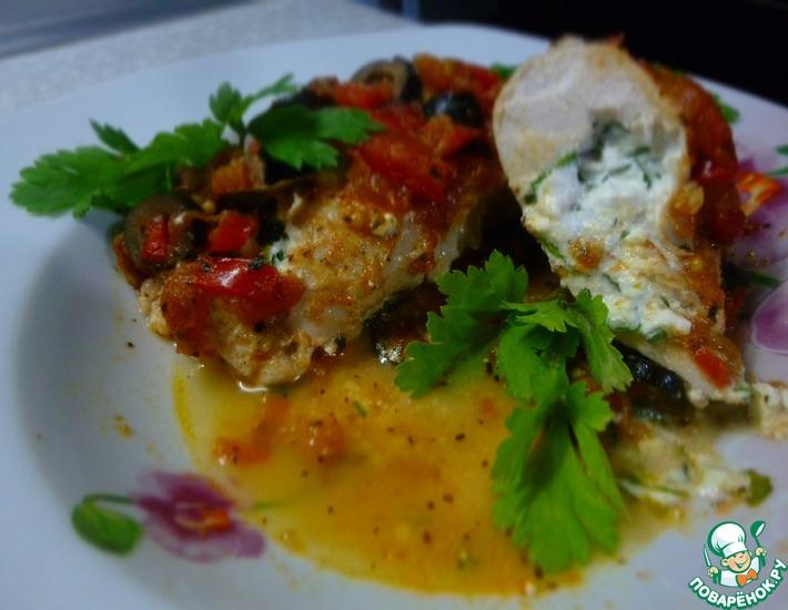 Рецепт: Куриное мясо по-итальянски