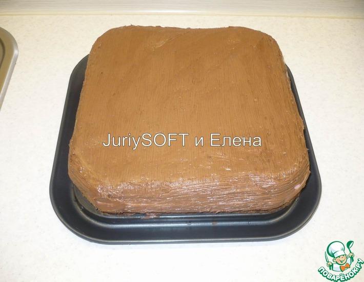 Рецепт: Торт Вишенка