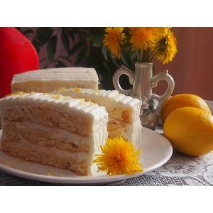 Пирожное Лимонная нежность