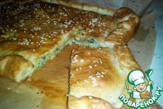 Рецепт: Пирог с сыром с плесенью
