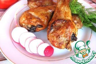 Рецепт: Куриные ножки в маринаде Три перца