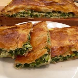 """Пирог """"Зеленая полянка"""" – кулинарный рецепт"""