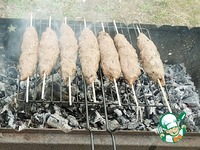 Кебабы из баранины в пряной панировке ингредиенты
