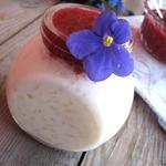 Рисовая каша с малиновым вареньем