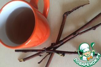 Рецепт: Чай из веток малины при простуде