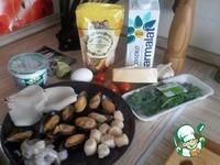 Морское ассорти ингредиенты