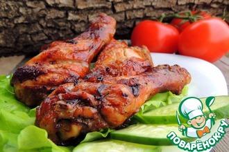 Рецепт: Шашлык куриный