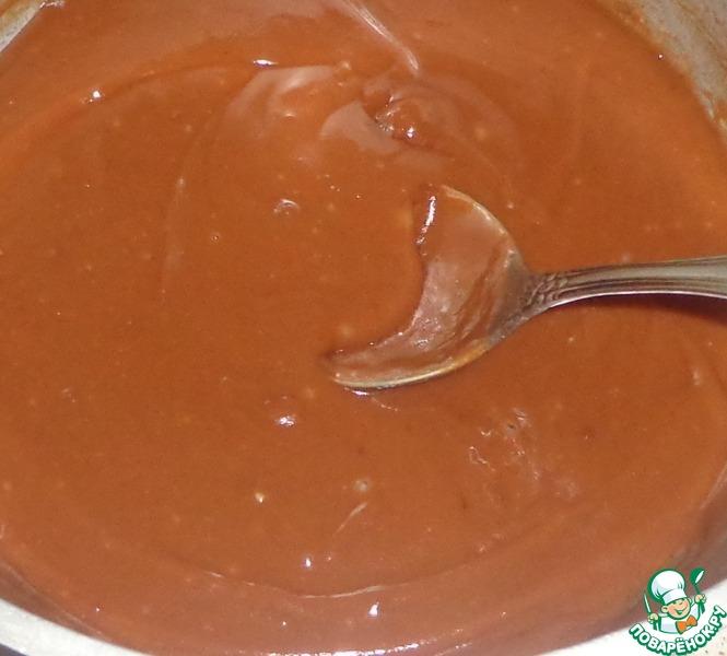 Профитроли с кремом из шоколада
