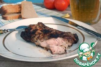 Рецепт: Свиные ребрышки барбекю