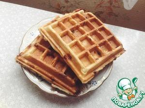 Вафли брюссельские дрожжевые — рецепт с фото пошагово. Как приготовить бельгийские вафли на дрожжах?