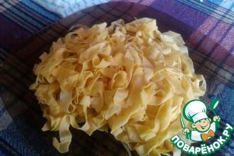 Рецепт: Настоящая Итальянская паста