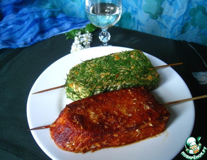 Рецепт: Сыр-гриль Весна и барбекю