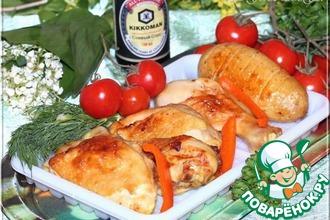 Рецепт: Курица гриль, маринованная в пиве